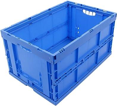 CAJA PLEGABLE 61L, caja plegable de plastico, caja de transporte ...