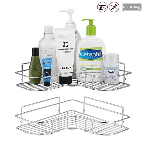 Amazon.com: Devesanter Estante esquinero para ducha con ...