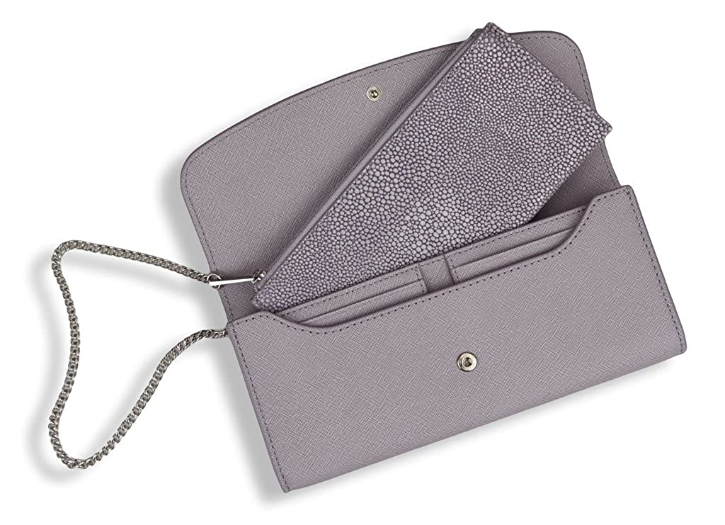 5810df2fb2df MICHAEL Michael Kors Juliana Large 3-in-1 Saffiano Leather Wallet in Lilac:  Amazon.co.uk: Shoes & Bags