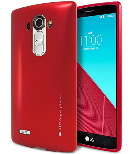 hot sales 9f96c 22337 LG G4 Case, [Ultra Slim Fit] Goospery i-Jelly Case [Metallic Finish]  Premium TPU Case Cover [Anti-Yellowing/Discoloring Finish] for LG G4 -  Metallic ...