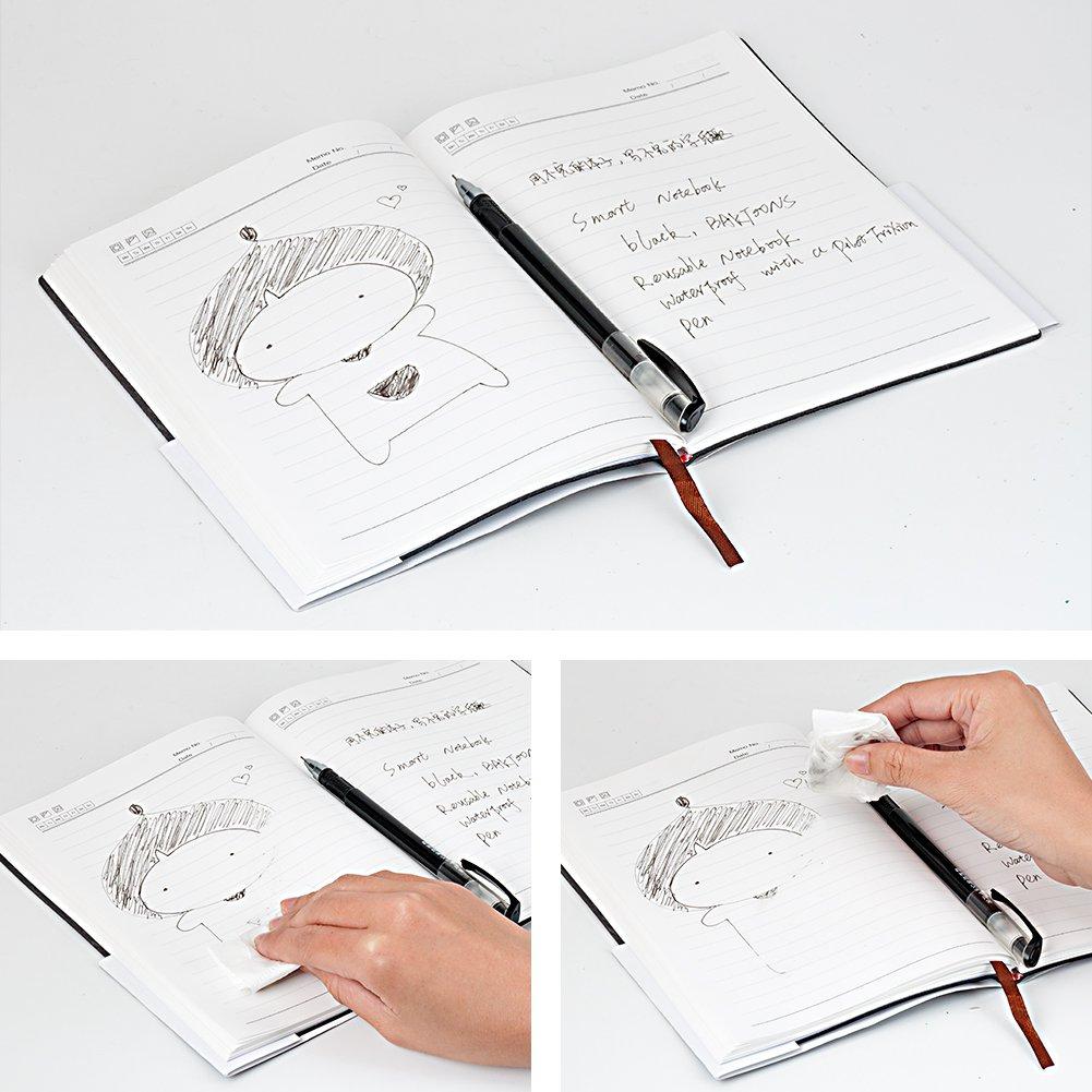 BAKTOONS Cuaderno Inteligentee, Cuaderno Reutilizabl, Elfinbook 2,0 Smart Notebook Borrable Cuaderno Impermeable con un Bolígrafo: Amazon.es: Oficina y ...