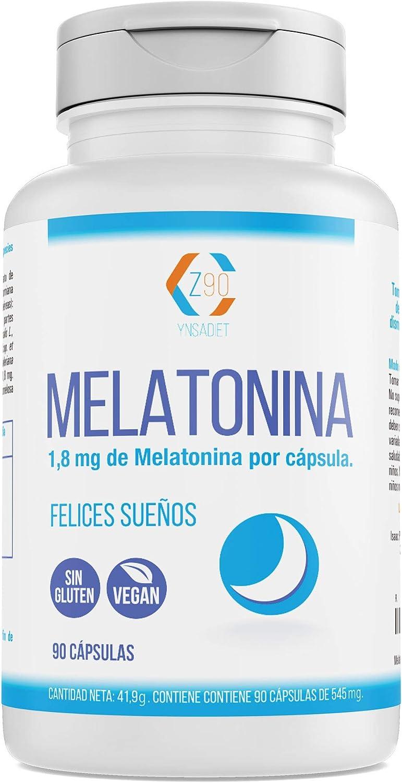 Melatonina – Valeriana – Tila – Pasiflora - Para conciliar el sueño | Conciliación Rápida del Sueño Con Efecto Duradero | Más Energía durante el Día| 100% Natural | 90 Cápsulas
