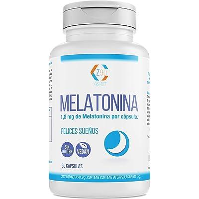 Melatonina – Valeriana – Tila – Pasiflora - Para conciliar el sueño   Conciliación Rápida del Sueño Con Efecto Duradero   Más Energía durante el Día  100% Natural   90 Cápsulas