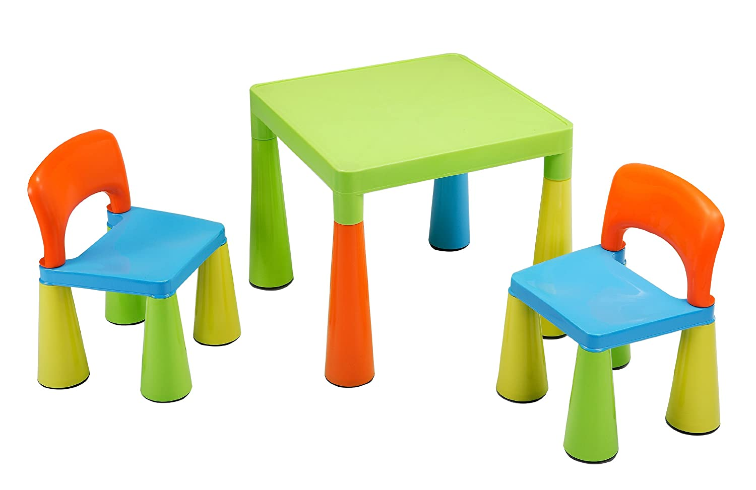 Liberty House Children's Table with 2 Chairs (Multi-Coloured) ToyCentre LHSM004UN