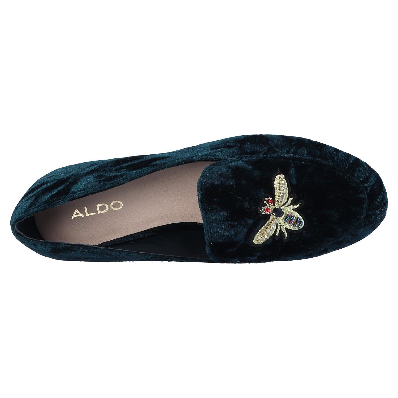 ALDO Caveny, Mocasines para Mujer, Verde (Forest Green), 36 EU: Amazon.es: Zapatos y complementos