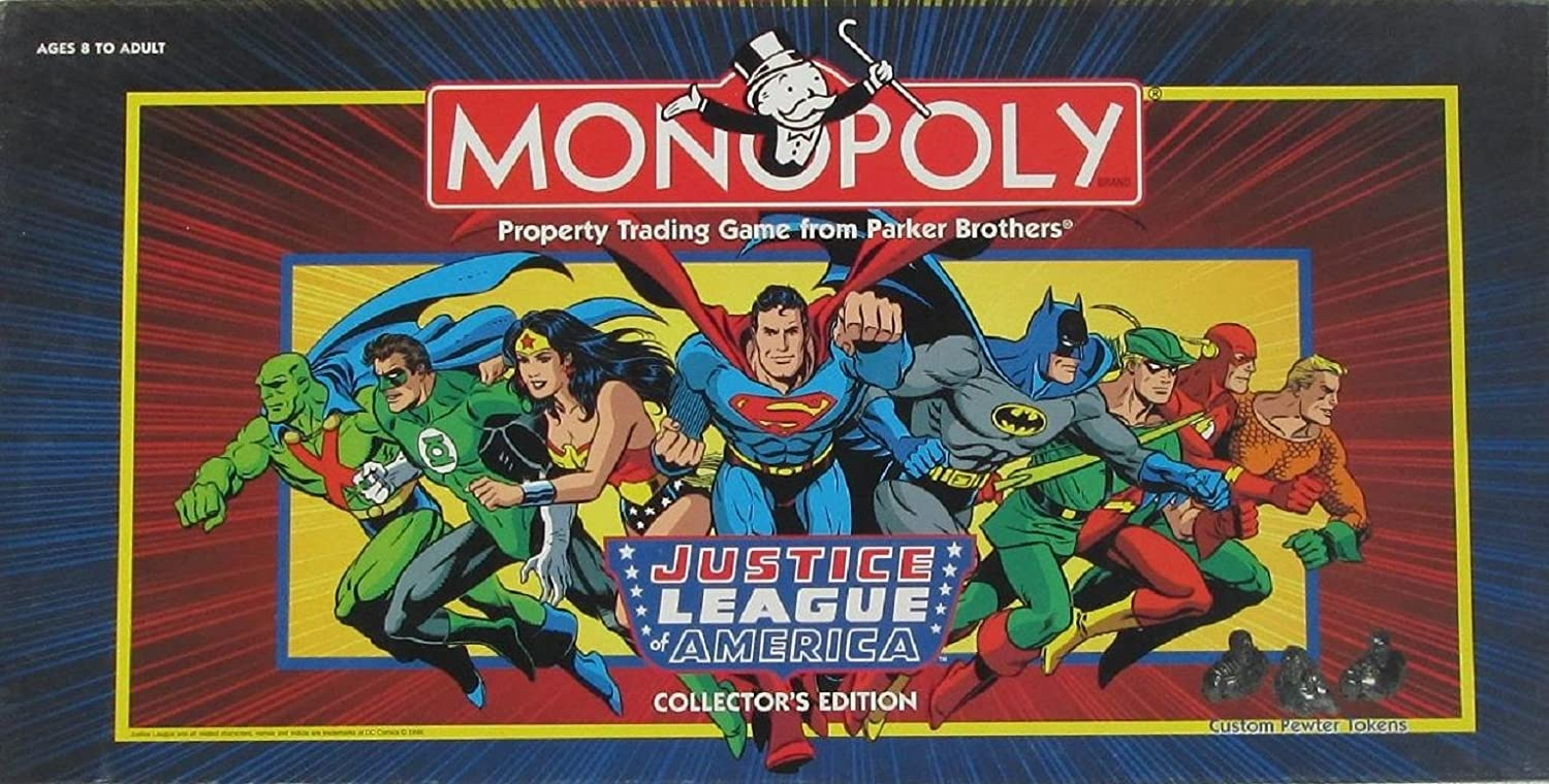 Monopoly Justice League of America Collector's Edition