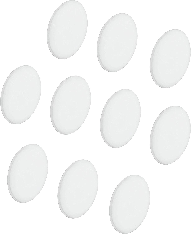 12 Stück Abdeckkappen chrom für M6 Innensechskantschrauben 0,83€ je Stück