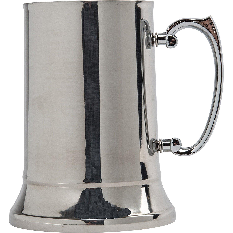 Maxam KTBMUG Stainless Steel Beer Mug, 20 oz, NA