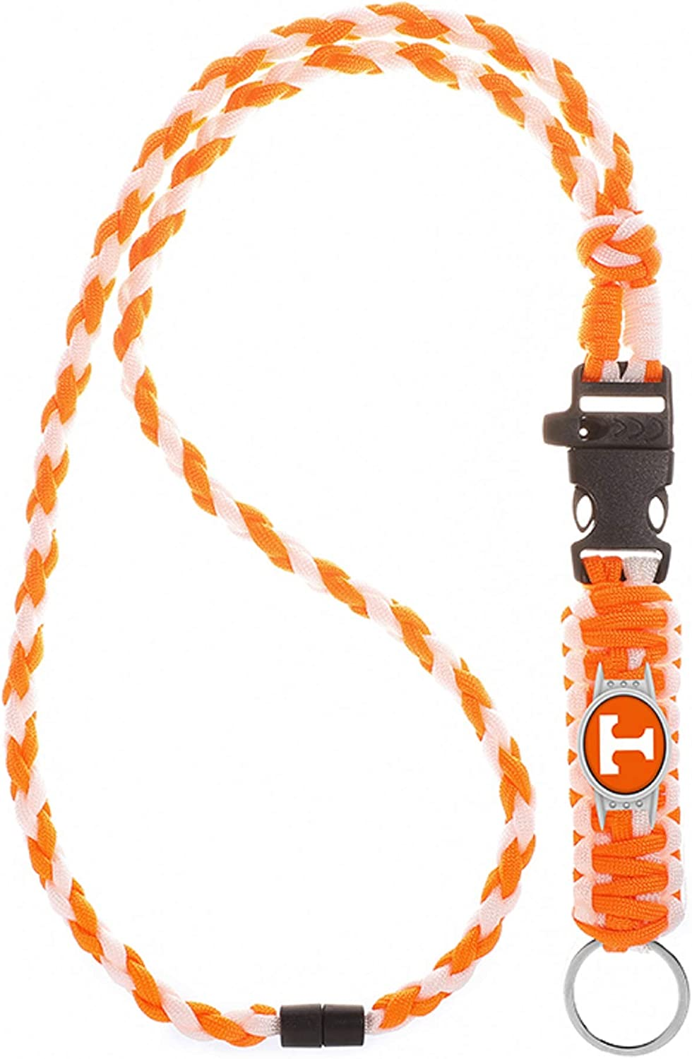 and Keychain Release/… Neck Clasp Swamp Fox Tennessee Volunteers Paracord Lanyard with Team Charm