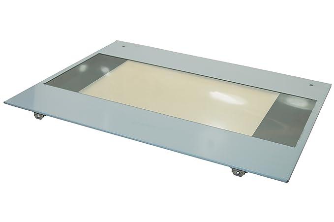 Smeg horno principal horno exterior puerta cristal. Genuine número ...
