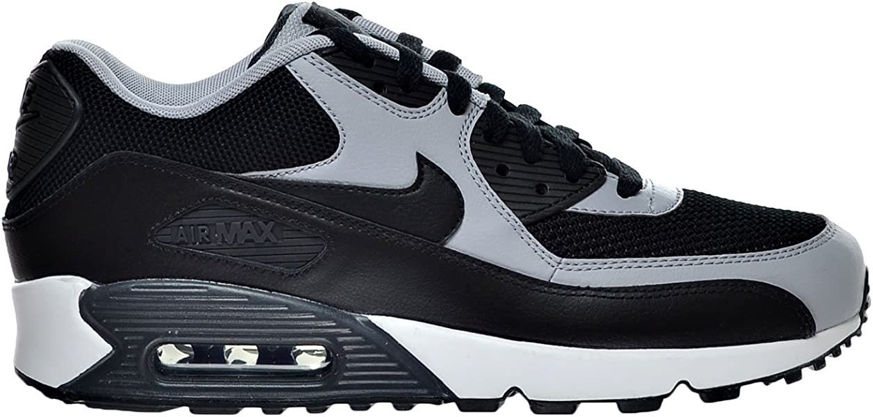 finest selection c14ee 639c6 Nike Air Max 90 Essential Men s Shoes Black Wolf Grey Anthracite 537384-053