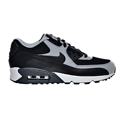 75abbded0a ... Nike Air Max 90 Essential Mens Shoes BlackWolf GreyAnthracite  537384-053 .