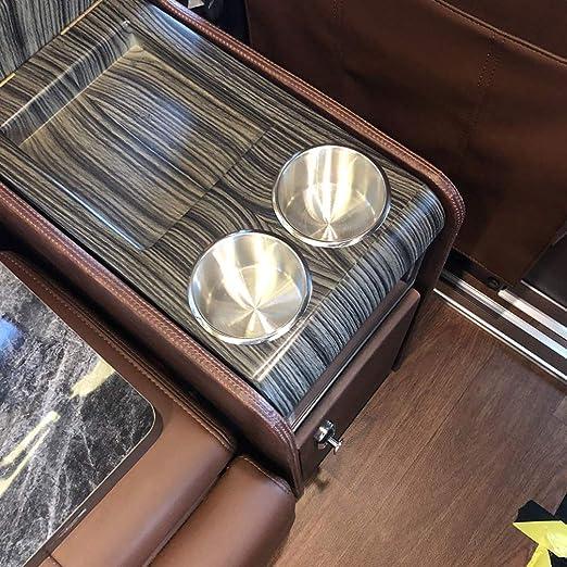 Garneck 10 Pezzi Portabicchieri da Incasso per Auto Portabottiglie in Acciaio Inossidabile Porta Lattine Inserto per Bevande Portabicchieri per Mobili Divano Tavolo da Poker Auto Barca Marine Rv