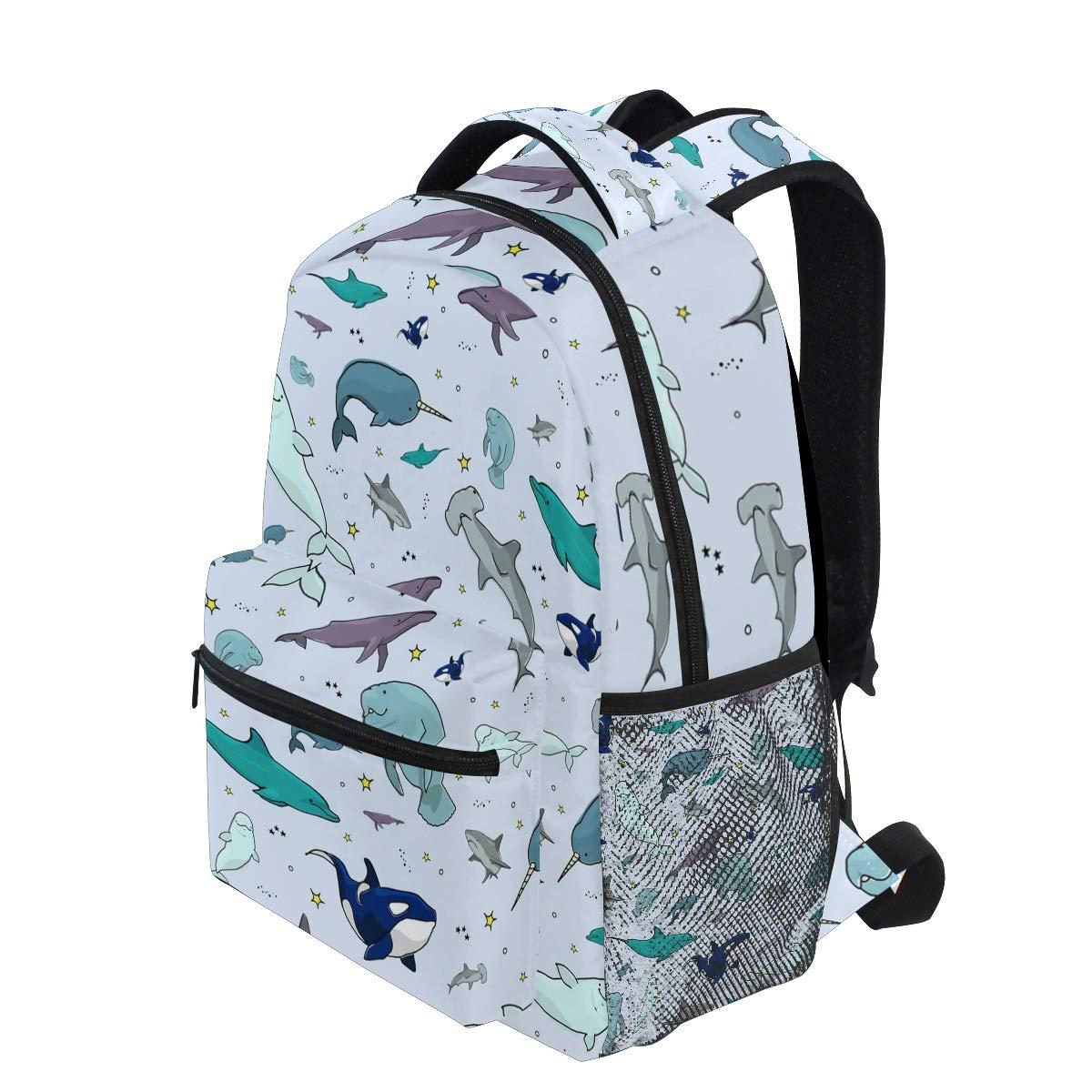 Amazon.com: Mochila de viaje con diseño de animales del ...