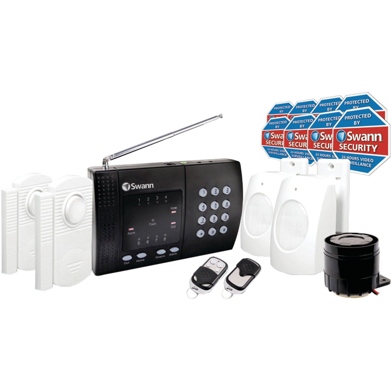 Amazoncom Swann Wireless Home Alarm System 2 Remote Controls