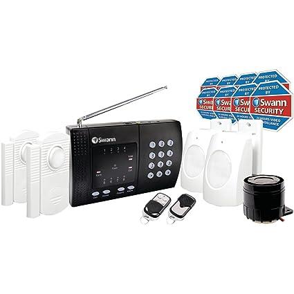 Amazon swann wireless home alarm system 2 remote controls swann wireless home alarm system 2 remote controls model sw347 wa2 solutioingenieria Images