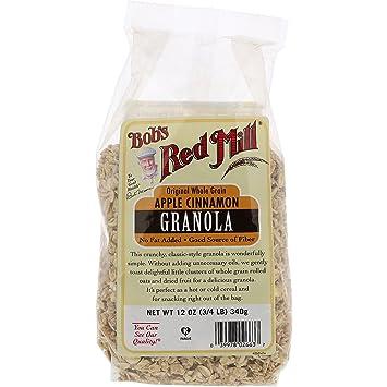 Amazon.com: De Bob Red Mill Apple Canela sin grasa Granola ...