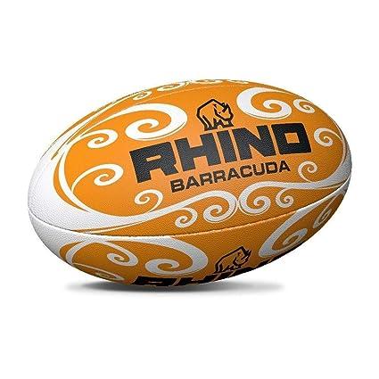 Rhino Barracuda - Pelota de Rugby para Playa, Color Naranja ...
