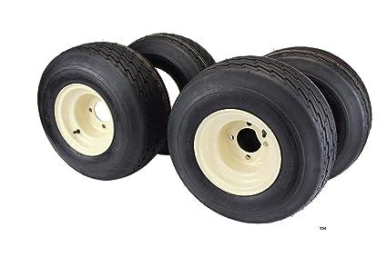 18 x 8.50 - 8 con 8 x 7 marrón rueda Asamblea para carro de golf y ...