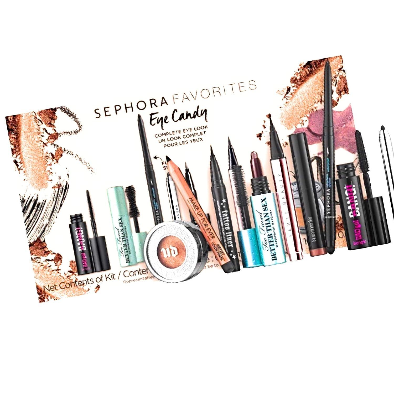 セフォラ アイセット Sephora SEPHORA FAVORITES Eye Candy Set マスカラ アイライナー アイブロー メイクアップ B07PX49C68