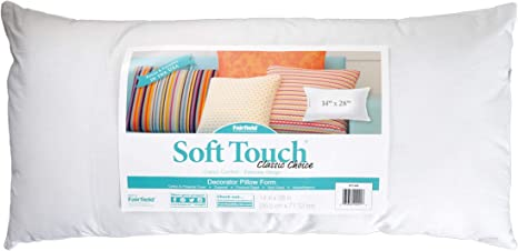 Fairfield Processing Corp 0313580 Fairfield Soft Touch Supreme Poly-Fil Pillow 14in x 28in
