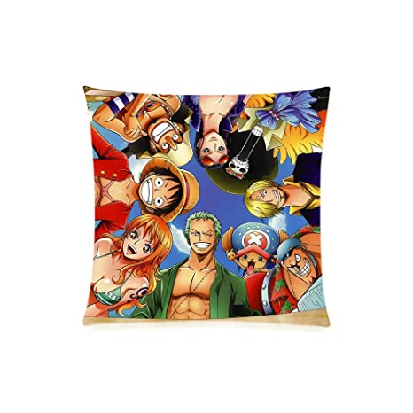 homeli Anime One Piece Custom funda de almohada suave con ...