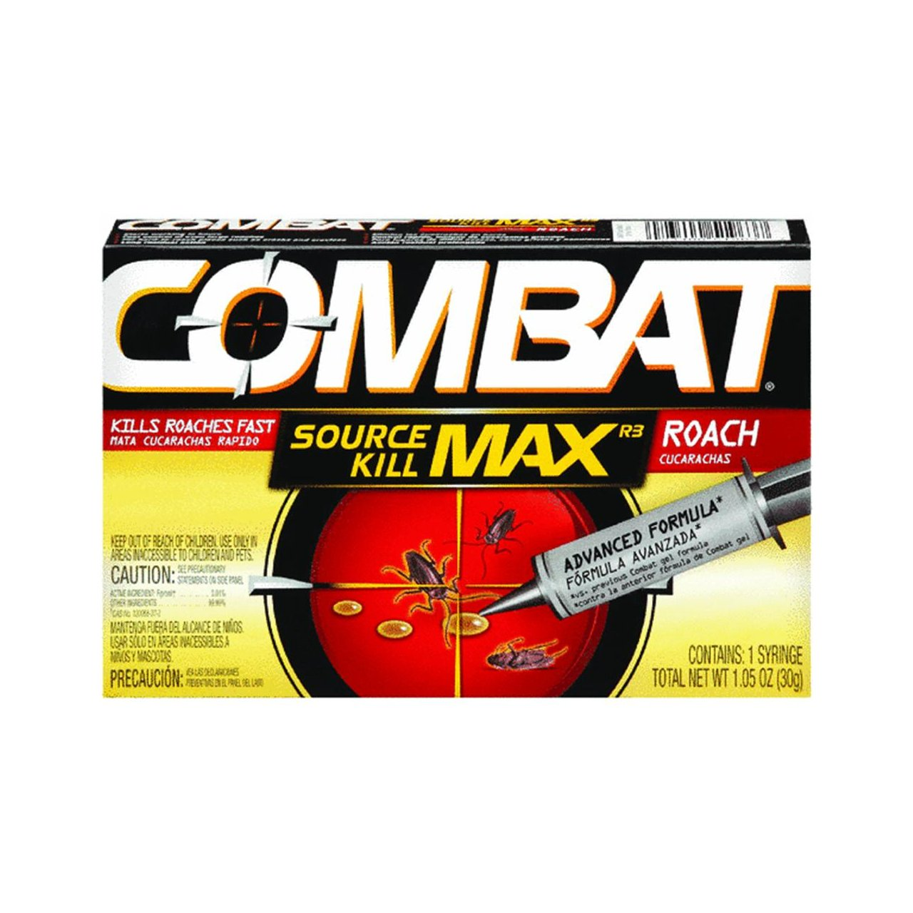 Combat Max Roach Killing Gel, 1.05 Ounces (Pack of 2)
