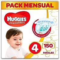 Huggies Ultra Comfort Pañales Talla 4 (7-18 kg)
