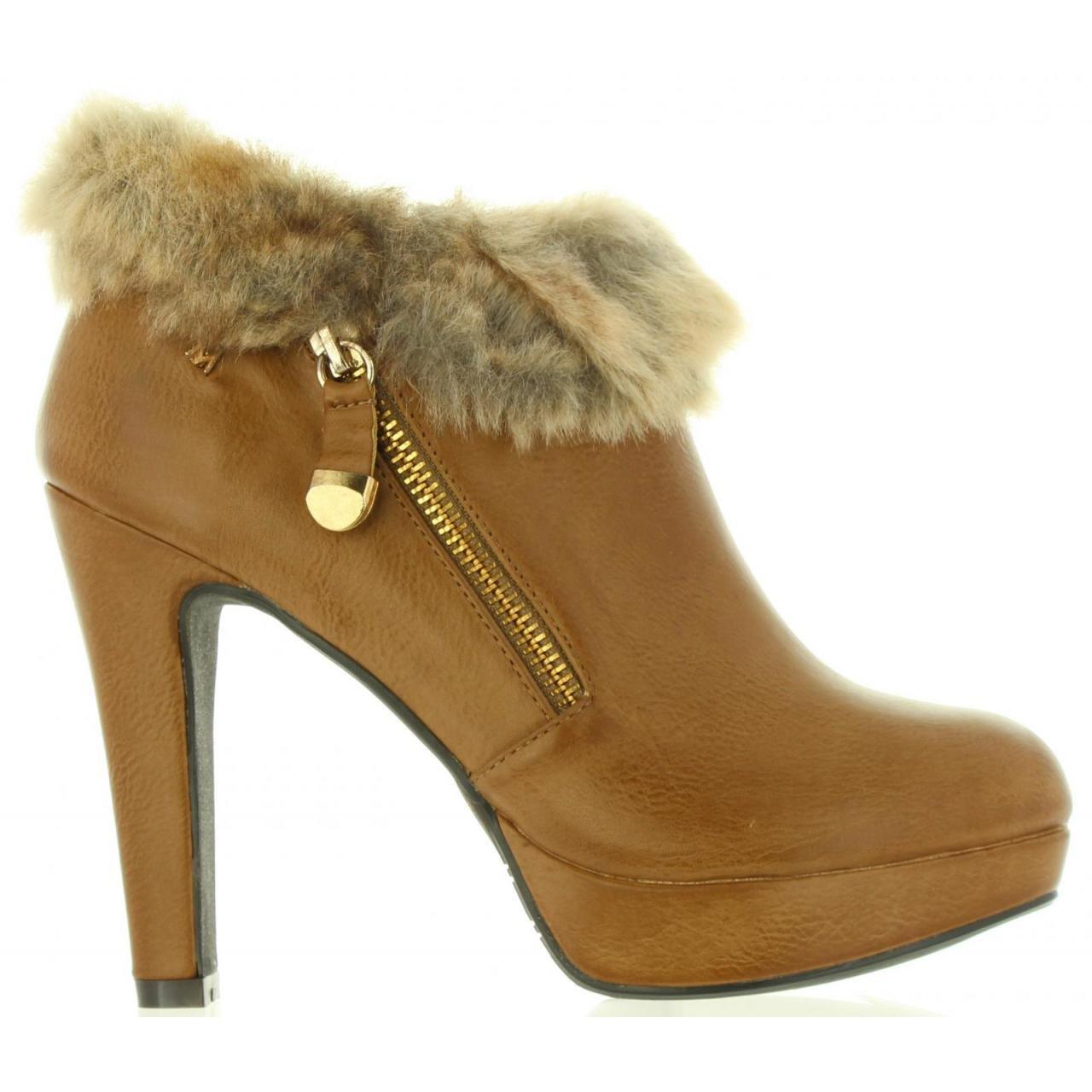 Maria Mare Schuhe Ferse für Damen 61004 C21008 NAPAL Taupe