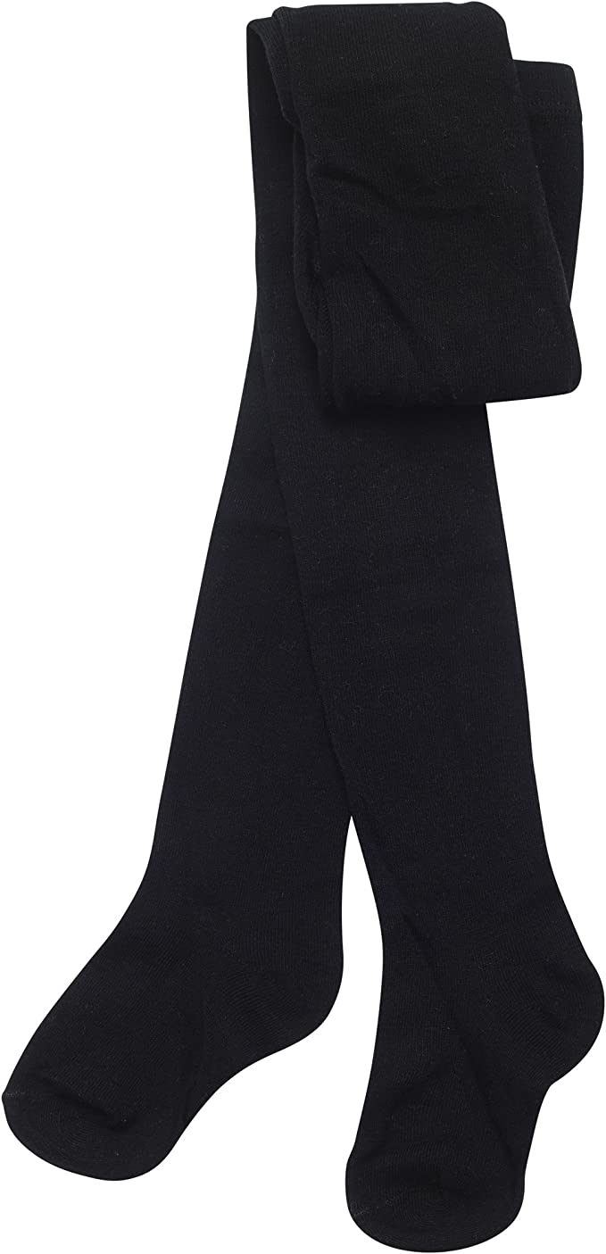 Soft Cotton Rich Lycra School Tights Black Navy Grey By Sockstack/® Pack Of 3 Girls Tights