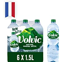 Volvic Natural Mineral Water 1.5L (Pack of 6)