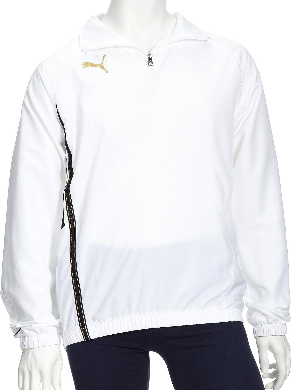 PUMA King Training - Camiseta de Manga Larga para Hombre, Hombre, 651881 04, Blanco y Negro, Extra-Large: Amazon.es: Ropa y accesorios