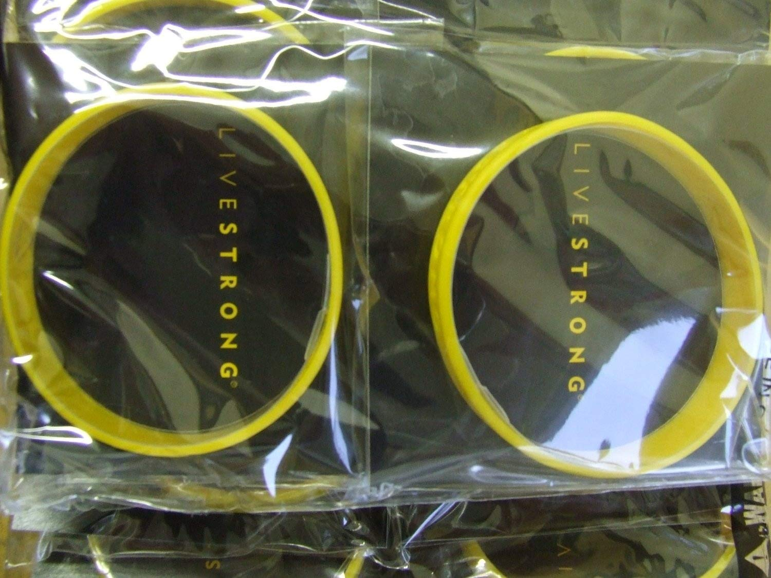 XXL ADULT SIZED Lance Armstrong Yellow Genuine LIVESTRONG Wristband