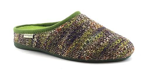 Zapatillas de Punto GRUNLAND Adri CI1379 Verdes para Mujer 39: Amazon.es: Zapatos y complementos