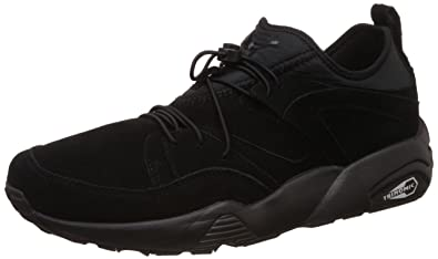 Puma Hombres Negro Blaze of Glory Soft Zapatillas-UK 10: Amazon.es: Zapatos y complementos