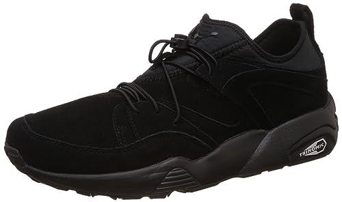 79886e6abd684a PUMA Mens Black Blaze Of Glory Soft Trainers  Amazon.co.uk  Shoes   Bags