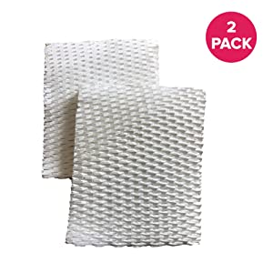 """Think Crucial 2 Replacements for Honeywell Humidifier Filter B Fits HAC-700, HCM-750, HCM750, HCM-750B & HCM750B, 5-1/4 x 6-1/2"""" x 11/16"""""""