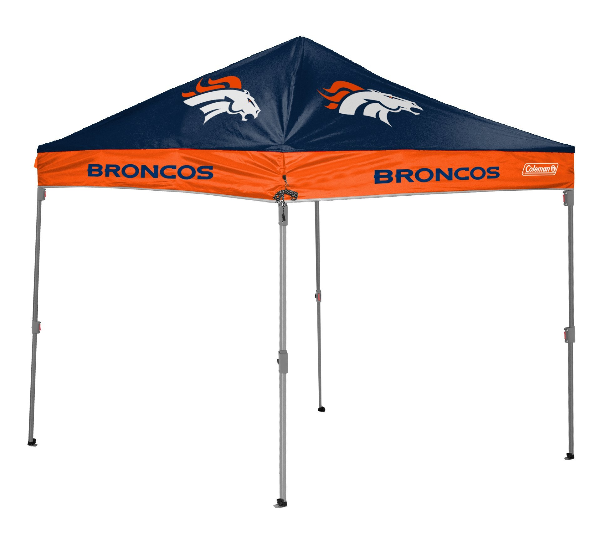 NFL Instant Pop-Up Canopy Tent with Carrying Case, 10x10