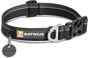 RUFFWEAR - Hoopie Dog Collar, Webbing Collar for Walking and Everyday Use