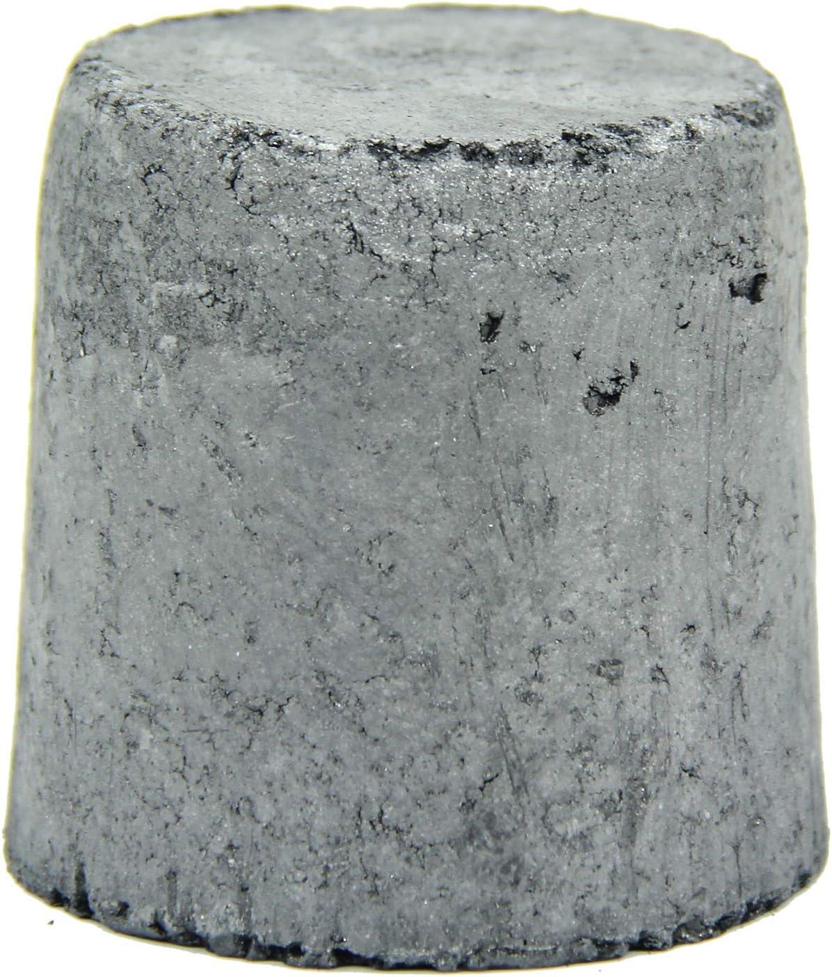Max Melting Copper 1.6KG Graphite Ingot Mold Melting Casting Mould for Gold Silver Aluminum Copper Brass Zinc Alloy Metals Graphite Crucibles Aluminum 600g Silicon Carbide Graphite Crucibles