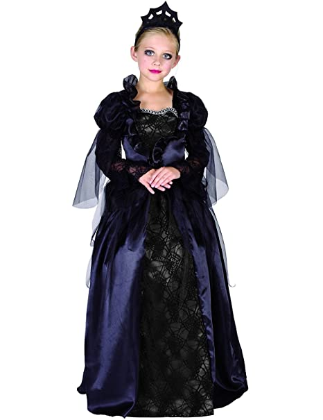 Costume contessa Halloween ragazza 10 a 12 anni (L)  Amazon.it ... 926b5ba38c71