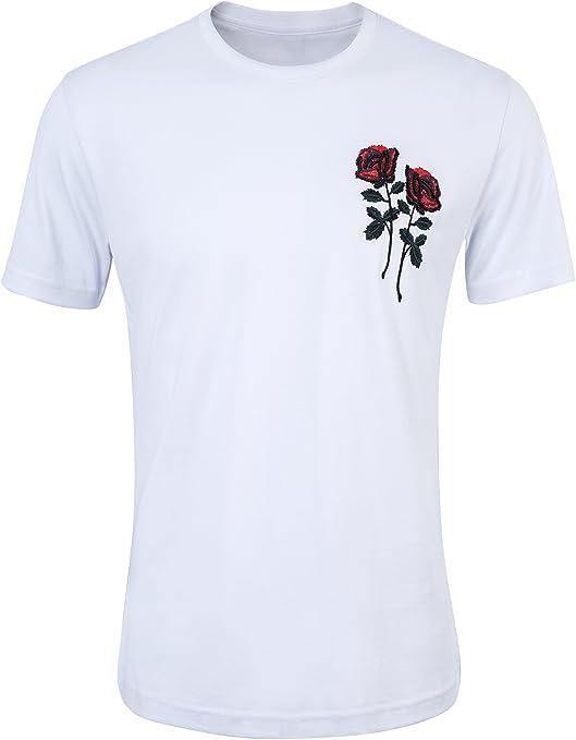 Cissei Camiseta Básica de Manga Corta Modelo para Hombre ...