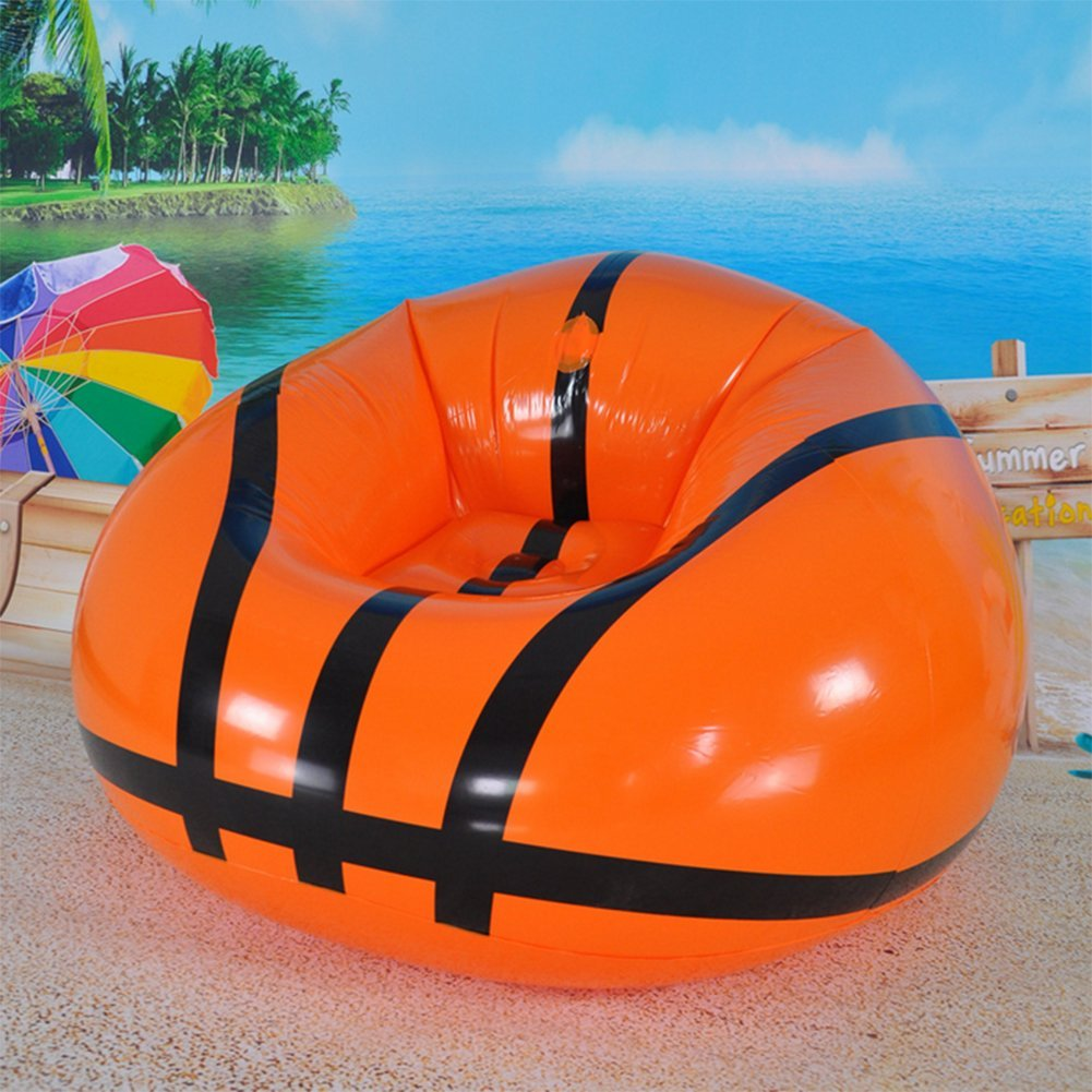 OOFAY Aufblasbares Luftsofa Kunststoff-PVC Für Beach Park Camping & Musikfestivals Faule Lounger Couch
