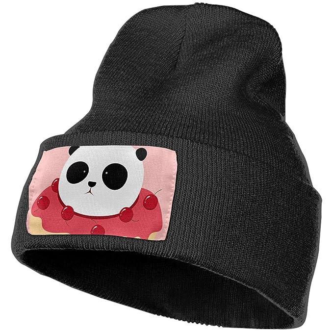 d3d4658a6e Amazon.com  Anonymous Guest Knit Hat Cap Panda Winter Soft Warm Ski ...