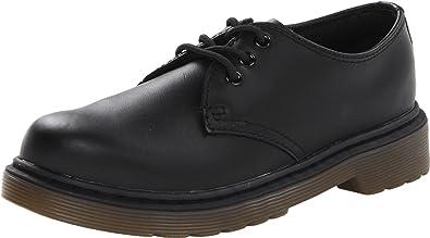 Dr. Martens Everley Softy T Black, Chaussures Bateau Mixte Enfant - Noir (Black), 29 EU