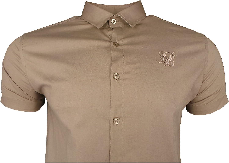 Sik Silk Estiramiento De Algodón De SS Camisa: Amazon.es: Ropa y accesorios