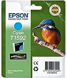 Epson T1592 Cartouche d'encre d'origine pour Stylus Photo R2000 Cyan