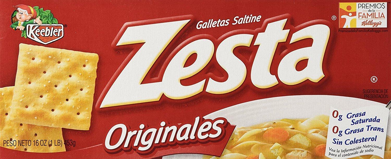 Keebler Zesta Zesta Saltine Crackers - Original - 16 oz - 2 pk by Keebler