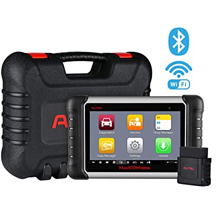 Autel MaxiCOM MK808BT Diagnostic Scan Tool Automotive Scanner with All  Systems Diagnosis, 21 Special Functions, IMMO Keys, ABS Brake Bleed, Oil  Reset,