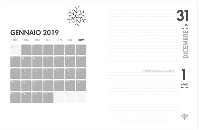 Agenda 2018 universitaria - 16 meses - Mars Orange: Amazon ...